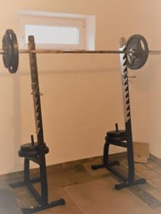 Fitness zuhause - Hantelablage