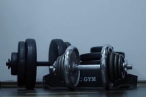 Die Kurzhantel gehört zu den wichtigsten Fitnessgeräte für zuhause