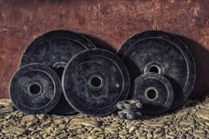 Gewichte sind wichtig für deine Fitnessgerät für zuhause
