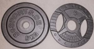 Gewichte kaufen Durchmesser Scheiben
