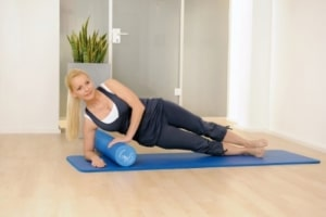Training mit der Pilates Rolle